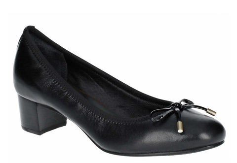 Rockport Total Motion Gitty Luxe Bow Shoe Black