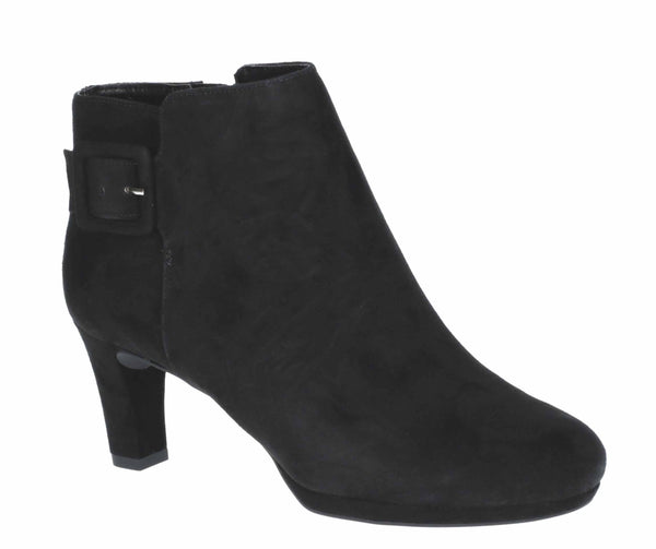 Rockport Total Motion Leah Boot Black Suede