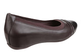 Rockport Total Motion Evangaline V81053 Womens Gore Cap Toe Wedge Shoe