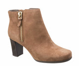 Rockport Total Motion Trixie Bootie 2 CG8326 Womens Suede Ankle Boot Coco CG8326
