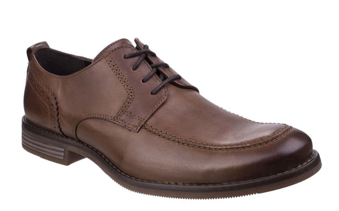 Rockport Wynstin Apron Toe Lace Shoe Brown