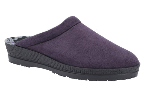 Rohde 2291 Womens Wide Fit Mule Slipper