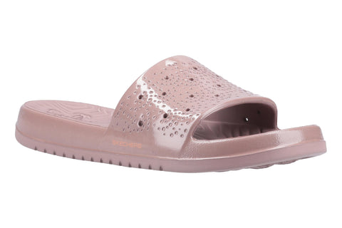 Skechers 111136 Gleam Sizzling Womens Slide Sandal