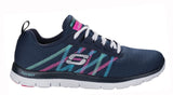 Skechers SK11885 Flex Appeal - Something Fun Womens Lace Up Trainer
