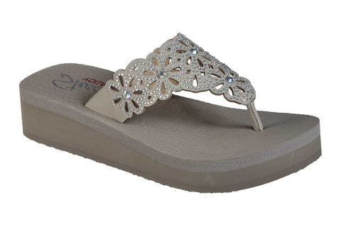Skechers 119146 Vinyasa Pretty Thang Womens Sandal