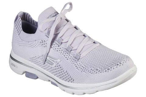 Skechers Gowalk 5 Uprise Lace Up Sports Lavender