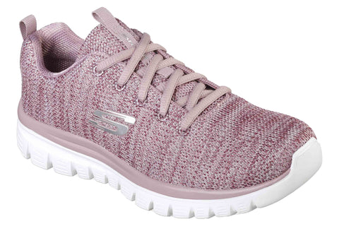 Skechers 12614 Graceful Twisted Fortune Womens Trainer
