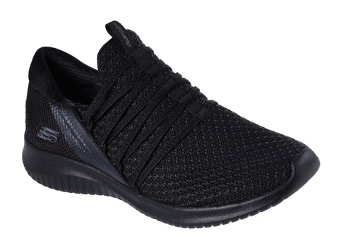 Skechers Ultra Flex Bright Future Trainer Black