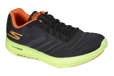 Skechers Go Run Razor + Sports Shoes Black/Yellow/Orange