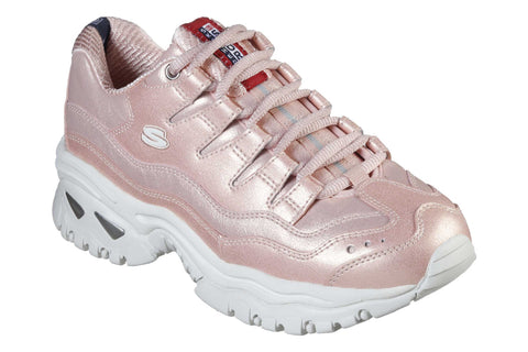 Skechers Energy Glacier Views Trainer Fuchsia