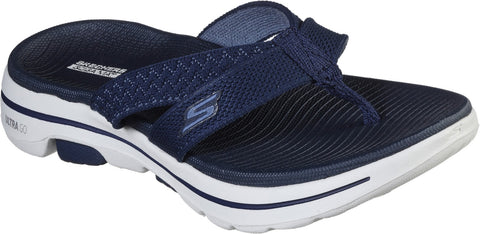 Skechers Gowalk 5 Sun Kiss Slip On Toe Post Navy
