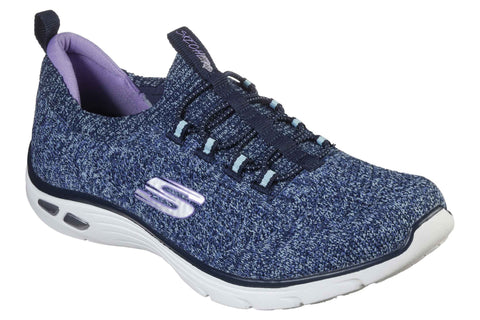 Skechers 149007 DLux Sharp Womens Slip On Trainers
