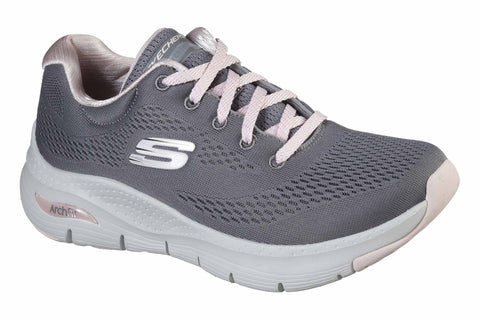 Skechers Arch Fit Sunny Outlook Sports Shoe Gray