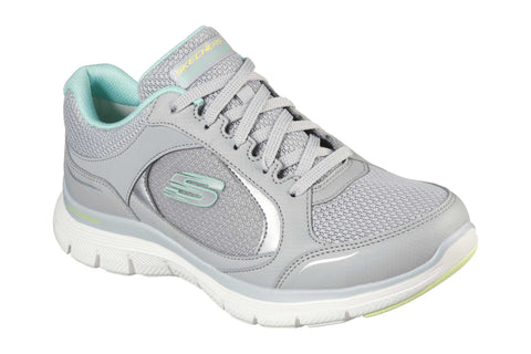 Skechers Flex Appeal 4.0 True Clarity Sport Shoes Grey/Multicoloured