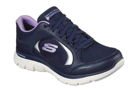 Skechers Flex Appeal 4.0 True Clarity Sport Shoes Navy/Lavender