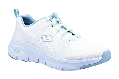 Skechers 149414 Arch Fit Comfy Wave Womens Trainer