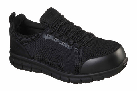 Skechers Synergy Omat Safety Trainer Black