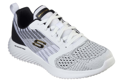 Skechers Bounder Verkona Lace Up Sports White