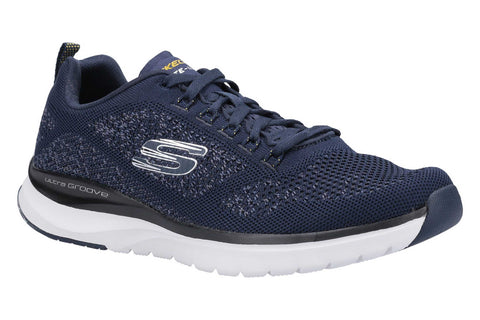 Skechers Ultra Groove Royal Dragoon Mens Sports Trainer Navy