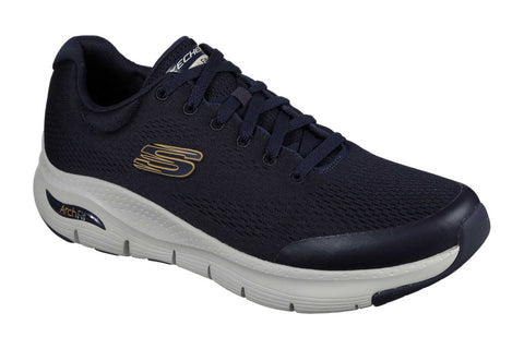 Skechers Arch Fit Lace Up Sports Navy
