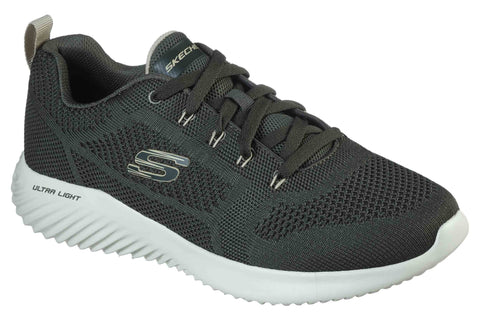 Skechers 232068 Bounder Mens Lace Up Trainer