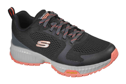 Skechers Skechers Street Flex Eliminator Sports Shoes Black/Red