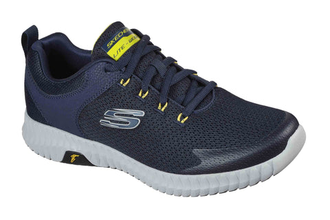 Skechers Elite Flex Prime Take Over Sport Shoes Navy/Yellow