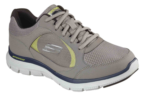 Skechers 232222 Flex Advantage 4.0 MEns Waterproof Trainer