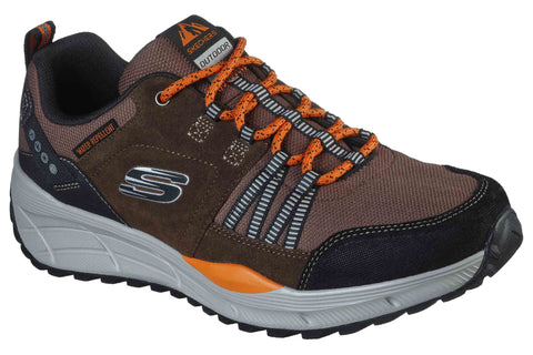 Skechers Equalizer 4.0 Trail Sports Shoes Brown/Black