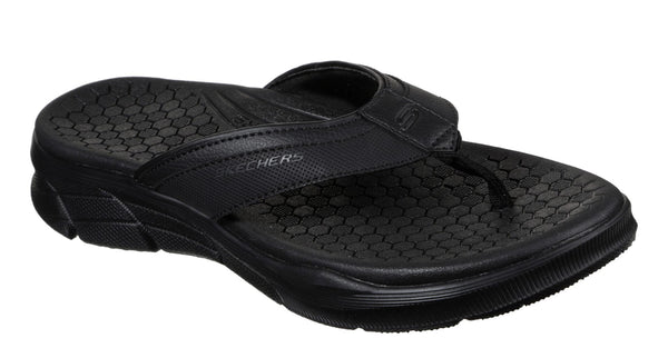 Skechers Equalizer 4.0 Serasa Slip On Mule Black