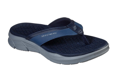 Skechers Equalizer 4.0 Serasa Slip On Mule Navy