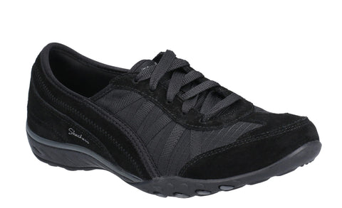 Skechers 23845 Relaxed Fit Breathe Easy Weekend Wishes Womens Lace Up Shoe