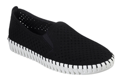 Skechers Sepulveda Blvd A La Mode Slip On Shoe Black/White