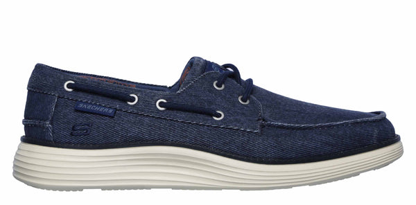 Shoe Lace Up Boat 0 Status Mens 2 Canvas Skechers 65908 Lorano Pwk8n0O