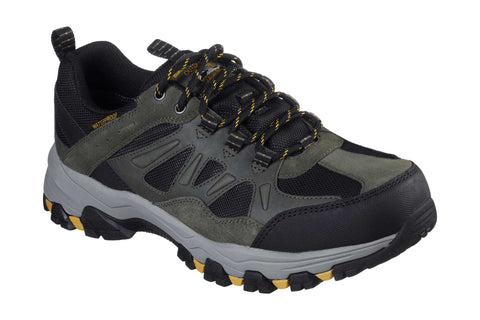 Skechers 66275 Enago Mens Waterproof Lace Up Shoes