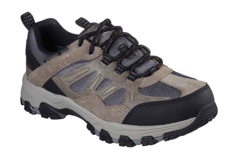 Skechers 66275 Selmen - Enago Mens Waterproof Lace Up Walking Shoes