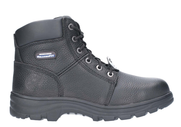 18b4fb01a05cf Skechers 77009EC Work Relaxed Workshire ST Mens Lace Up Safety Boot – Robin  Elt Shoes