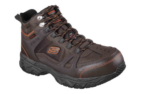 Skechers Ledom Safety Boot Brown