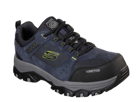Skechers Work 77183EC Greetah Comp Toe Mens Lace Up Shoe