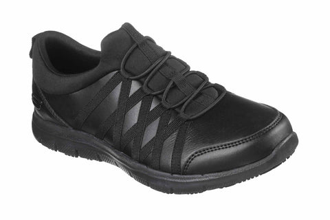 Skechers Ghenter Dagsby Safety Shoes Black