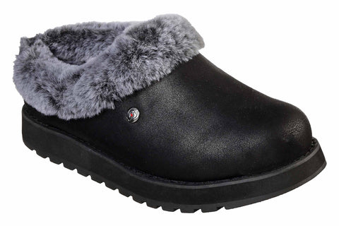 Skechers Keepsakes - R E M Fur Lined Shootie Black
