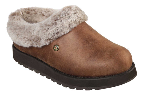 Skechers Keepsakes - R E M Fur Lined Shootie Brown