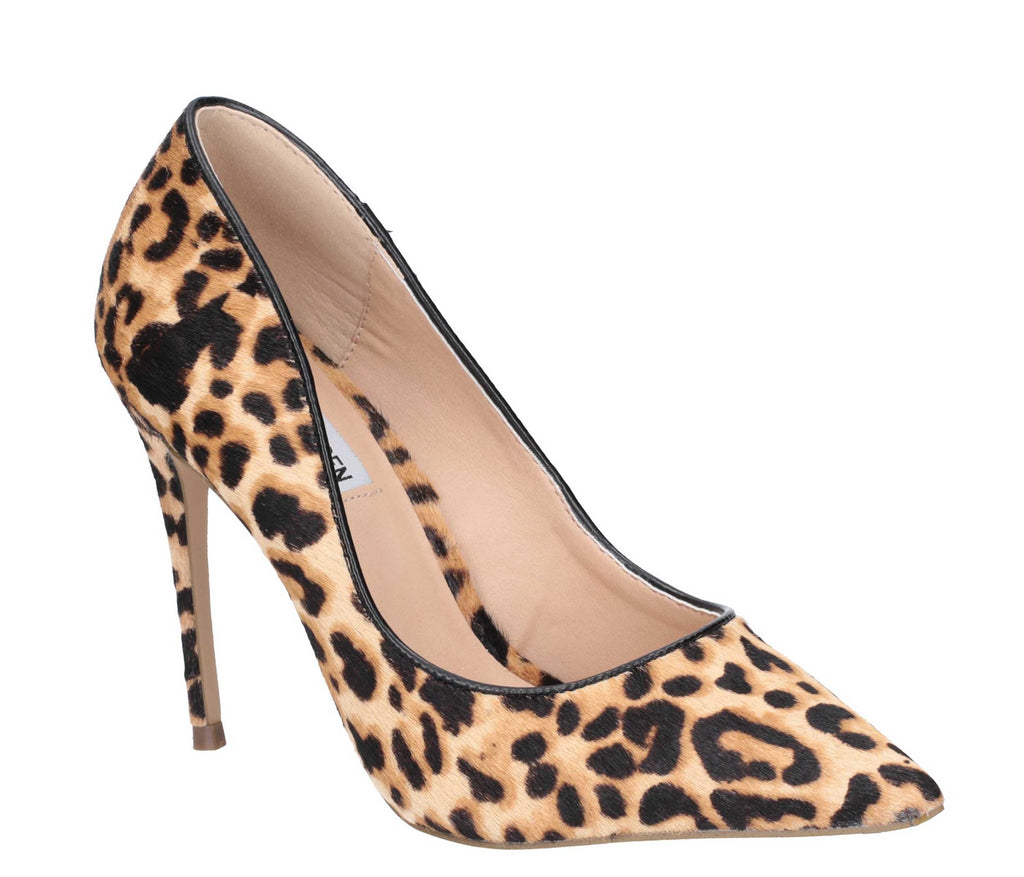 2c18d82089df Steve Madden Daisie-L Womens Leopard Print Heeled Court Shoe – Robin Elt  Shoes
