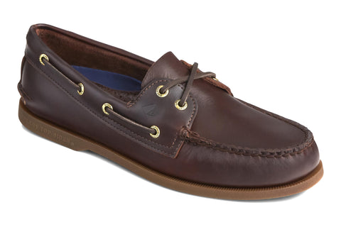 Sperry Authentic Original Leather Boat Shoe Amaretto