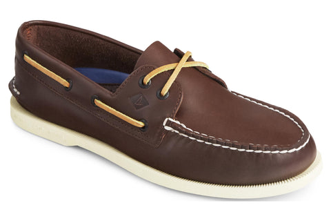 Sperry Authentic Original Leather Boat Shoe Brown
