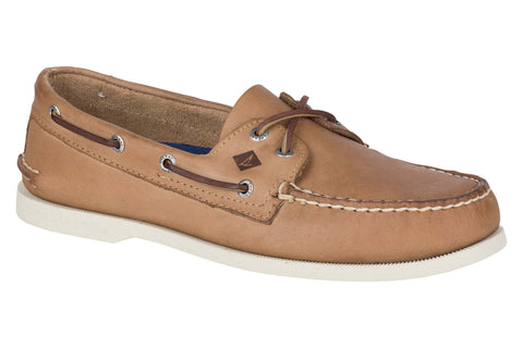 Sperry Authentic Original Leather Boat Shoe Cream