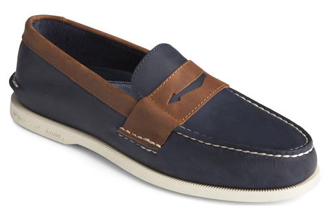 Sperry Authentic Original Penny Loafer Navy/Sonora