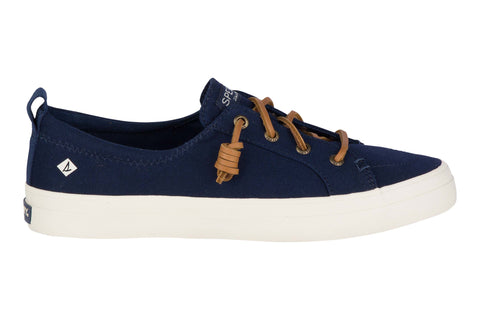 Sperry Crest Vibe Canvas Lace Shoes Navy