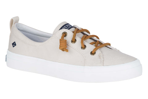 Sperry Crest Vibe Canvas Lace Shoes Oat