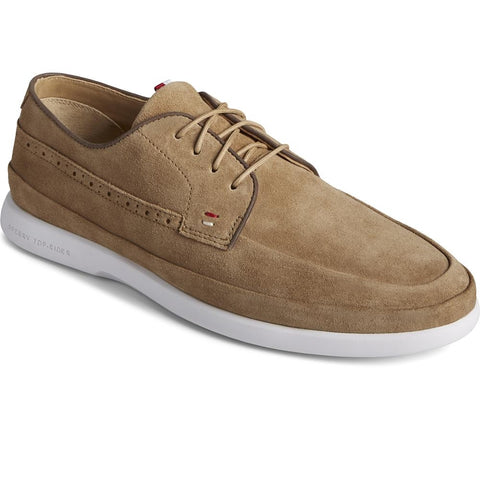 Sperry Gold Cabo Plushwave Lace Shoes Tan